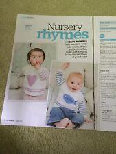 Baby Jumper Knitting Pattern - Heart & Fish Motifs, 3-24 Months