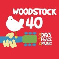 WOODSTOCK - 40 YEARS ON: BACK TOYASGUR'S FARM - 6 CD - NEW!!!