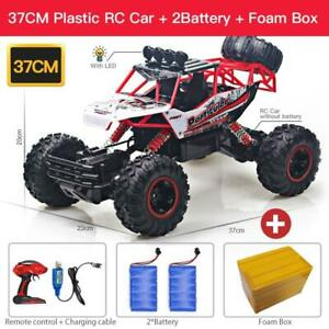 Rc Car With Led Lights 1:12 / 1:16 4wd  2.4g Radio Remote Control Cars Trucks