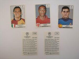 Panini UEFA Champions League 2001/2002 01 02 CL - Sticker aussuchen select Nr no