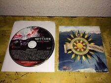 The Witcher III 3 Wild Hunt Soundtrack Cd & Northern Realms World Map Poster