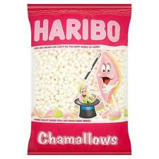 Haribo Mini Marshmallows Sweets All White Marsh Mallows Retro Kids Sweet 1kg Bag