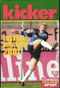 Kicker Almanach 2001 - Das Fußballjahr im Taschenbuch