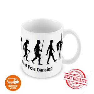 TAZZA EVOLUTION OF POLE DANCE 330ml lavabile sublimazione alta qualità regalo