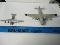 Vintage Diecast Dinky Toys Airplanes Seaplane + York   Missing Parts
