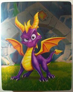 Spyro Reignited Trilogy G2 Steelbook | PS4 Xbox One | Metal Case