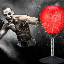 Desktop Punch Punching Speed Ball Stress Buster Freestanding Boxing Bag Adult Us