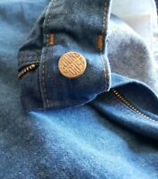NWT Vintage Round House Carpenter Denim Work Jeans Made In USA Mens Size 42x30