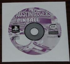 PS1. Austin Powers Pinball (PAL EUR/AUS) Sony Playstation game.