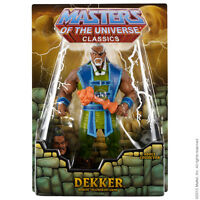 $ CYBER SALE $ Dekker 2012 MOTU MOC Masters of the Universe Classics_NEU & OVP