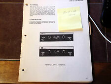 Narco Com 11 and 11A Com Service manual