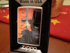 ZORRO WITH SWORD ZIPPO LIGHTER MINT IN BOX