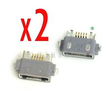 2 X Sony Xperia Z L36h C6602 L36i C6606 Charger Charging Port Dock Connector