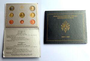 Vatican 2006 - Set of 8 Euro Coins (BU) ..  'VERY RARE'