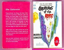 CREATURES FROM THE ABYSS (Murray Leinster/1st US/PBO)