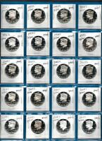 1992 through 2011  SILVER Proof Kennedy Set of  20