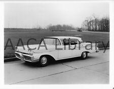 1958 Mercury Monterey Fordor, Factory Photo / Picture (Ref. #56822)