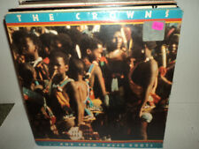 THE CROWNS AND FROM THESE ROOTS 1977 ABC RARE SOUL LP SEALED