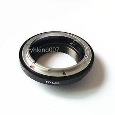 Canon FD Lens To Leica M LM Adapter M4 M5 M6 M7 M8 M9 Ricoh GXR-M TECHART LM-EA7