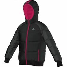 Details about Adidas girls infant junior down jacket coat ab4681 new pink mix age 3 4 to 9 10