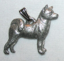 Akita Dog Harris Fine Pewter Pendant USA Made