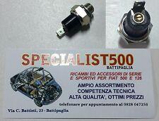 BULBO SPIA PRESSIONE OLIO REGISTRABILE  - FIAT 500 - 126 EPOCA