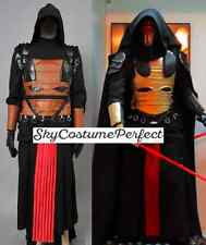Star Wars Knights of Old Republic Darth Revan black Cosplay Costume FREE ship