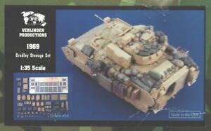 1/35 Verlinden Stowage Set Bradley Fighting Vehicle Resin Detail Set Kit 1969