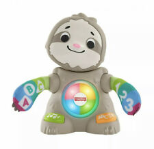 Fisher-Price Linkimals Smooth Moves Sloth Interactive Baby Toy Music & Lights