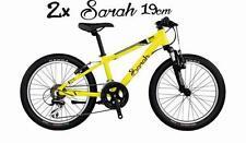 2x BIG personalised girl/boy name stickers Bike scooter frames or helmet 19cm
