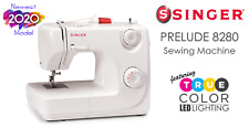 Singer 8280 Prelude Sewing Machine | Brand NEW 2020 Model w/LED True-Color Light