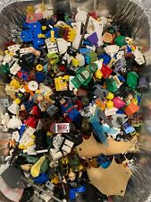 Lego Minifigure Lot DAMAGED parts 2lb Star Wars Super Hero Read Description
