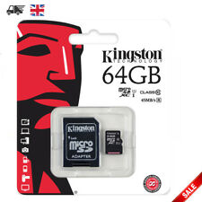 KINGSTON MICRO SD 64GB SDXC MEMORY CARD CLASS 10 UHS-1 MOBILE TABLET CAMERA