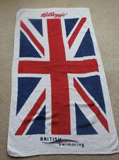New & Sealed Kellogg's 100% Cotton British Swimming Bath Towel 2012 - Olympics