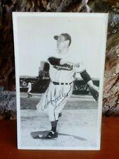 1951 Bob Feller signed autograph 6x4 Postcard Baseball Player