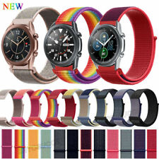 20MM 22MM Sport Nylon Watch Band Quick Release Pin Wrist Strap Elastic Bracelet