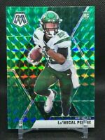 2020 Mosaic - La'Mical Perine rookie card RC #235 GREEN Prizm - New York Jets