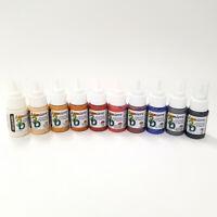 Jacquard Lumiere 3D Metallic & Adhesive Paint 29ml Set of 10