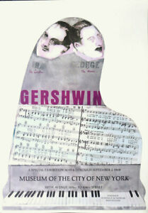 Ira And George GERSHWIN Larry Rivers 1968 City of New York Poster
