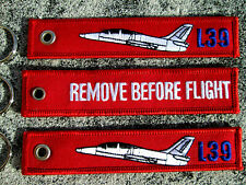 L-39 Albatros  REMOVE BEFORE FLIGHT 3er SET Keychain /Avion / Aircraft / YakAir