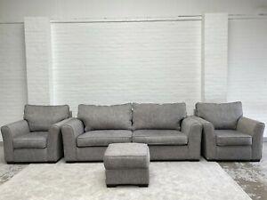 Collins&Hayes Heath 3 Seater Sofa+2 Armchairs+Footstool