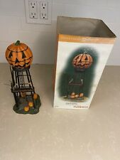 Dept 56 Village Accessories Halloween Water Tower 56.53223 Please Read