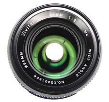 Vivitar 24mm f2 MC Canon FD mount   #22001505