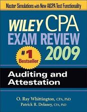 Wiley CPA Exam Review 2009: Auditing and Attestation (Wiley CPA Examin-ExLibrary