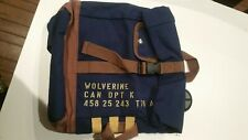 Loot Crate Wolverine Weapon X Canvas Bag Satchel