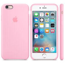 Luxury Original Silicone Case For Apple iPhone X 8 7 6s 6 Plus Genuine Cover