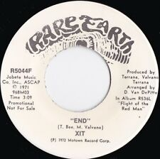 XIT ORIG US Promo 45 End NM '72 Rare Earth 5044 North American Indian Rock Pop