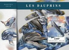 Togo 2018 MNH Dolphin Dolphin 1v S/S Marine Mammals Animals Stamps