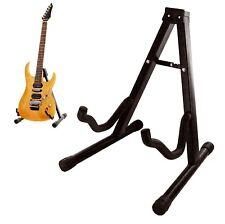 Plegable Soporte de Guitarra Plegable a-Frame música Piso Bajo Acústica Eléctrica Nuevo