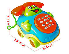 2016 Baby toys Music Cartoon Phone + KUDR Educational Developmental Kids Toy